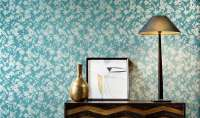 Tapeta Arte A80060 - Bouton d'or Flamant Les Memoires Arte