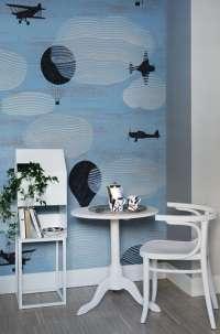 Tapeta Wall & Deco Avionic