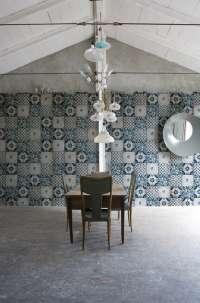 Tapeta Wall & Deco Azul