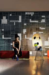 Tapeta Wall & Deco Black bricks