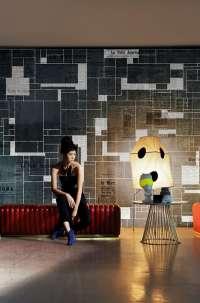 Tapeta Wall & Deco Black bricks