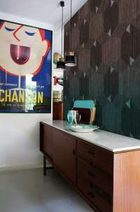 Tapeta Wall & Deco Boiserie