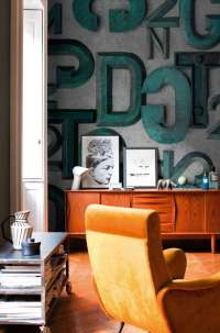 Tapeta Wall & Deco Bronzo