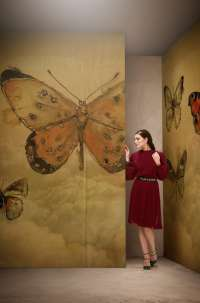 Tapeta Wall & Deco Butterflies
