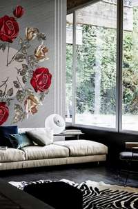 Tapeta Wall & Deco Canvas bouquet