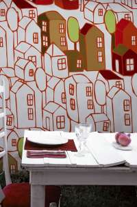 Tapeta Wall & Deco Dream town