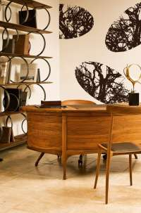 Tapeta Wall & Deco Elliptical forest