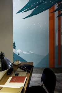 Tapeta Wall & Deco Flag forest