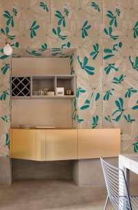 Tapeta Wall & Deco Fleur des amériques