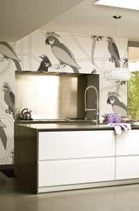 Tapeta Wall & Deco Funny parrots