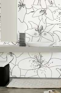 Tapeta Wall & Deco Lily