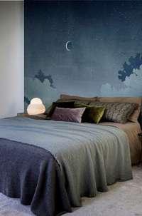 Tapeta Wall & Deco Notturno blu