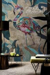 Tapeta Wall & Deco Pink wind