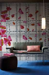 Tapeta Wall & Deco Scottish blumen