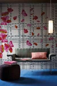 Tapeta Wall & Deco Scottish blumen