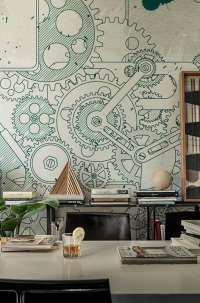Tapeta Wall & Deco Steampunk