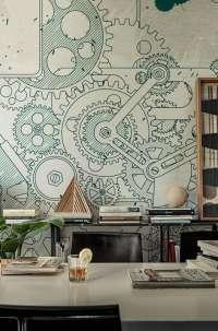 Tapeta Wall & Deco Steampunk
