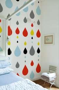 Tapeta Wall & Deco Strawberry tears