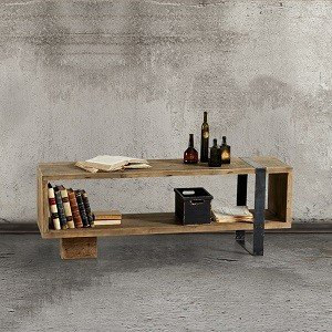 Półka z drewna