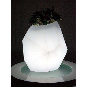 podświetlany wazon