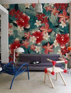 Wall & Deco tapeta tropikalna