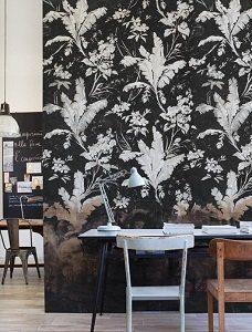tapeta Wall & Deco kwiaty
