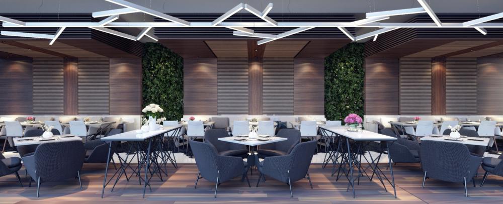 projekt restauracji wnętrze