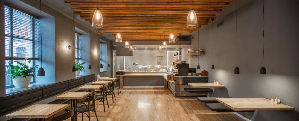 projekt wnętrza restauracji