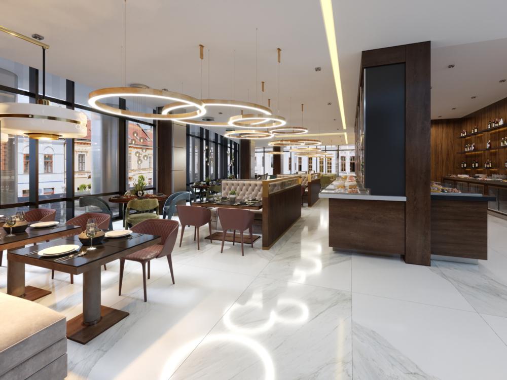 projektowanie aranżacja restauracji