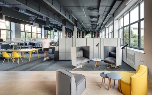 projektowanie powierzchni biurowych