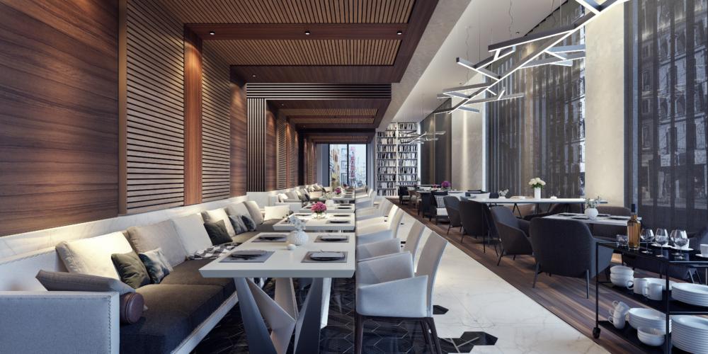 projektowanie wnętrz restauracji