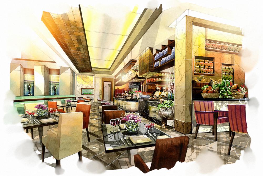 projekty restauracji