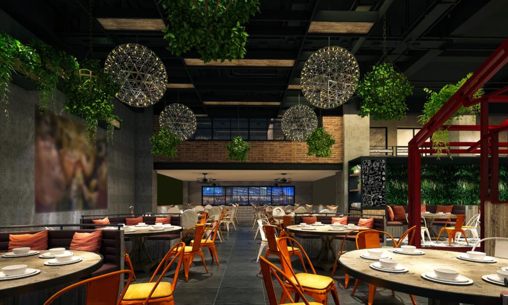 projekty wnętrz restauracji