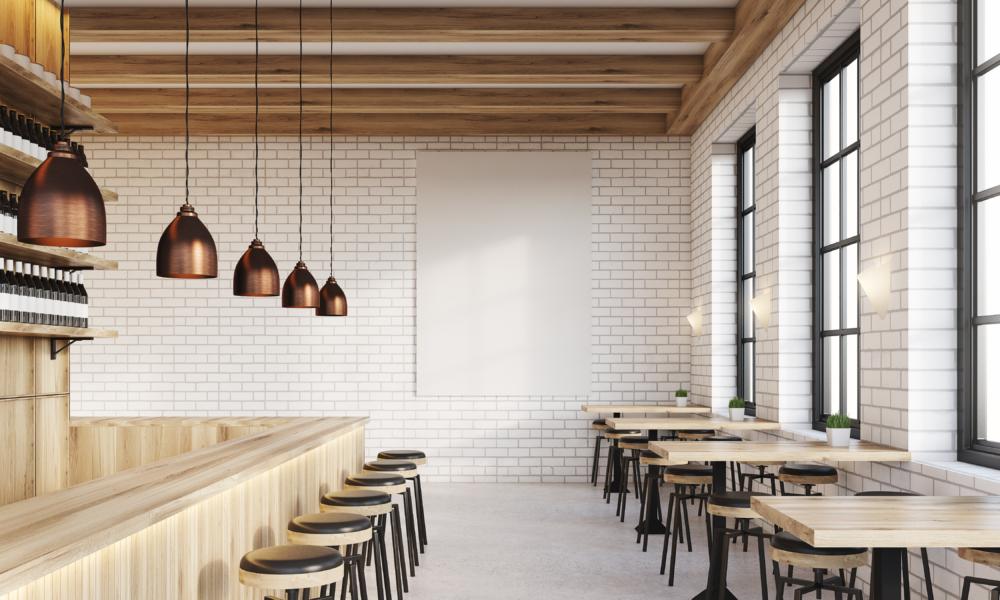 wnętrze restauracji projekt